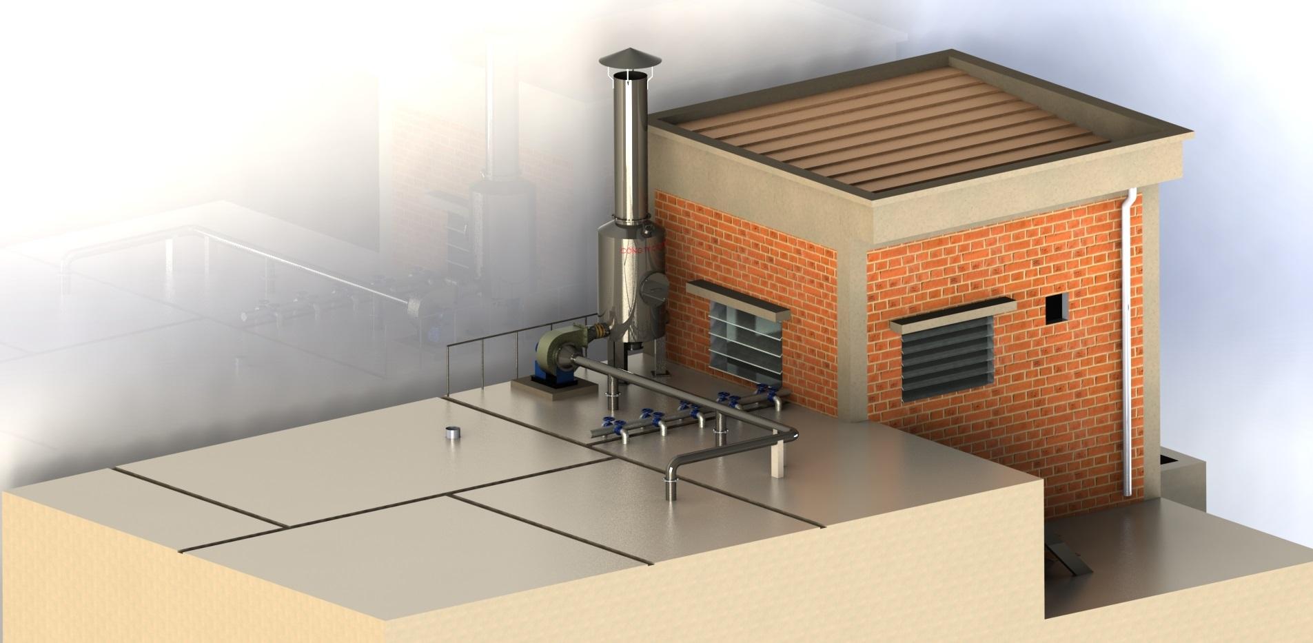 Kiểm soát và loại bỏ mùi hôi từ hệ thống xử lý nước thải