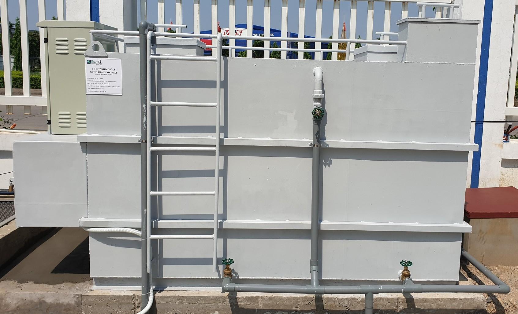 Hệ thống xử lý nước thải y tế, nước thải sinh hoạt quy mô nhỏ