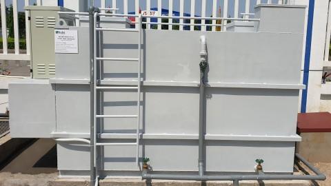 Lắp đặt bộ hợp khối xử lý nước thải sinh hoạt INAERRO 5 cho Công ty TNHH Sanyou MMA Việt Nam