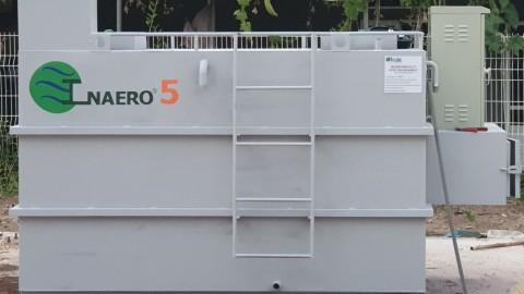 Lắp đặt hệ thống xử lý nước thải quy mô nhỏ tại Công ty TNHH Thương mại và Bao bì Vĩ Nghiệp công suất 5m3/ngày đêm