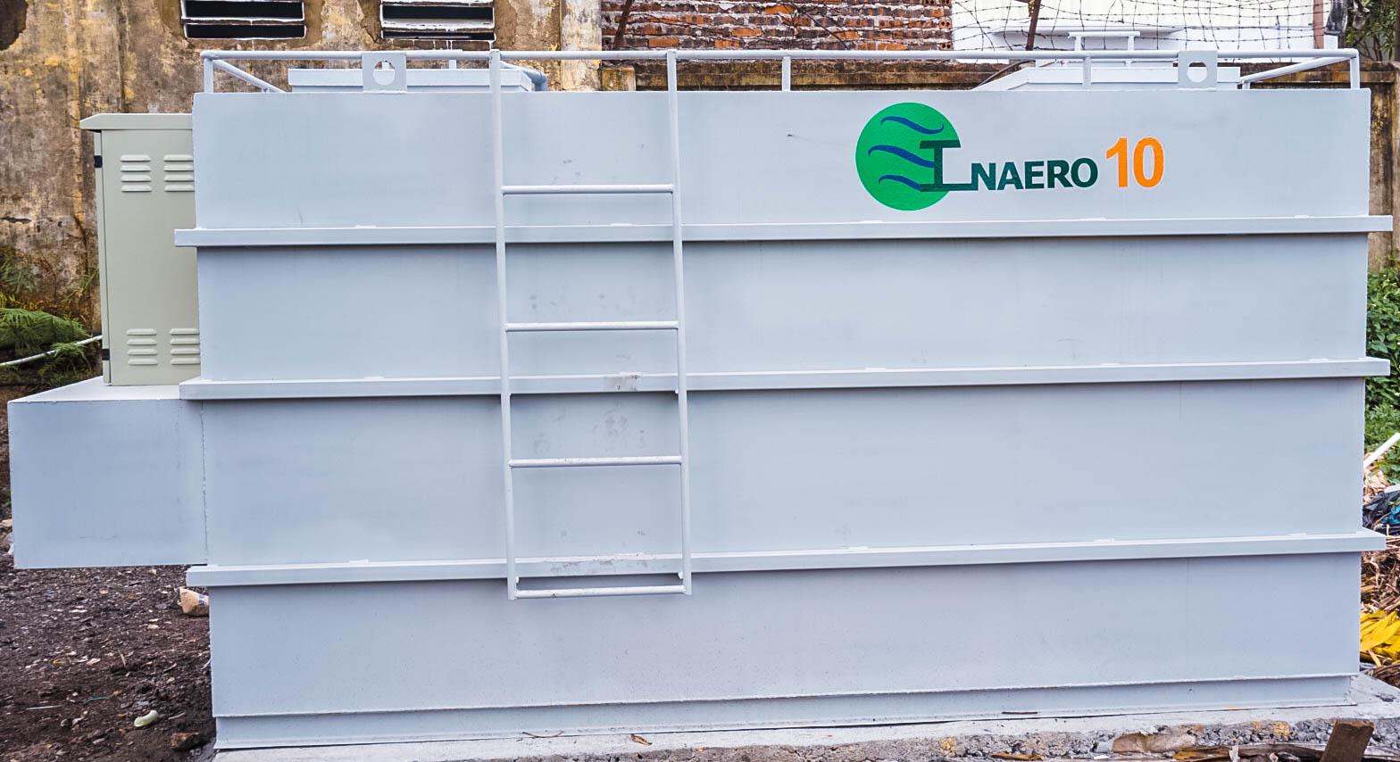 Lắp đặt hệ thống xử lý nước thải Inaero cho Công ty Cổ phần may Hồ Gươm công suất 10m3/ngày đêm