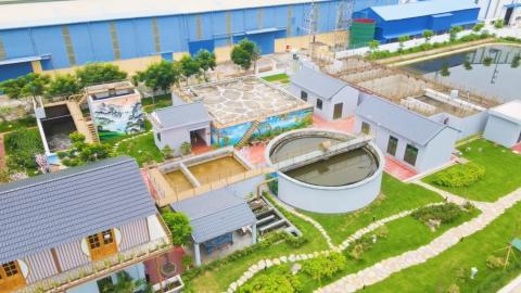 Trạm xử lý nước thải Khu công nghiệp Nam Cầu Kiền công suất 2000m³/ngđ